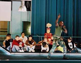 "A scene from Peter Sellars ""The Children of"