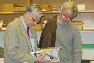 E.O. Wilson and Christopher Lydon